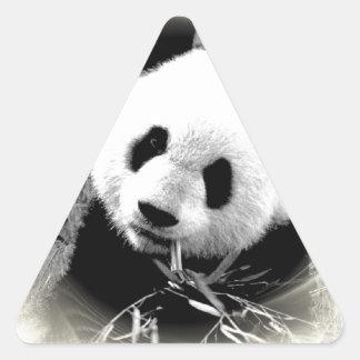 Panda Eyes Triangle Sticker