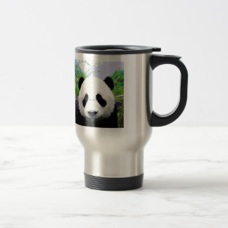 Panda Eyes Travel Mugs