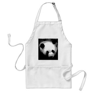 Panda Face Apron