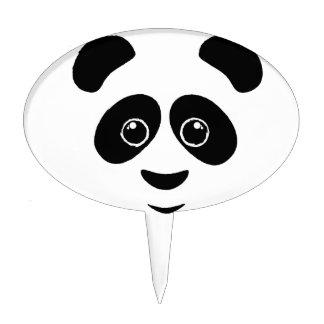 Panda Face Cake Pick