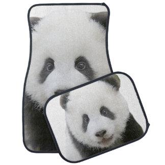 Panda Face Car Floor Mat