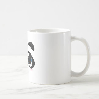 Panda Face Classic White Coffee Mug