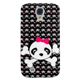 Panda Face & Crossbones iPhone Case Galaxy S4 Cover