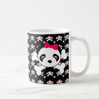 Panda Face & Crossbones Mug