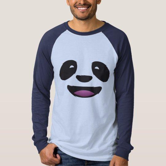 Panda Face - Cute animal wildlife T-Shirt