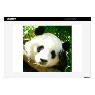 Panda Face Decal For Laptop