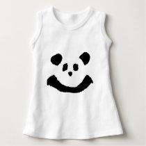Panda Face Dress