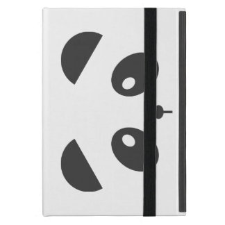Panda Face iPad Case