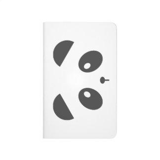 Panda Face Journal
