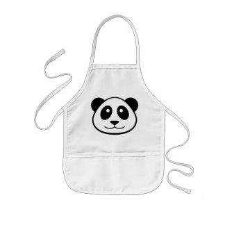 Panda Face Kids Kids' Apron