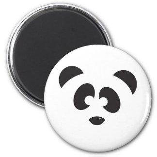 Panda Face Magnets