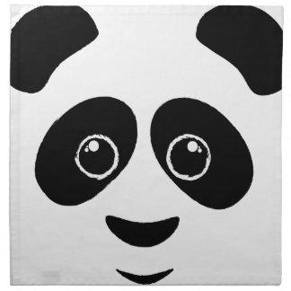 Panda Face Cloth Napkin