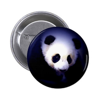 Panda Face Pin
