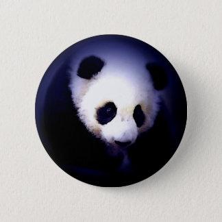 Panda Face Pinback Button