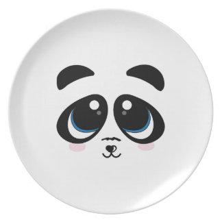Panda Face Plates