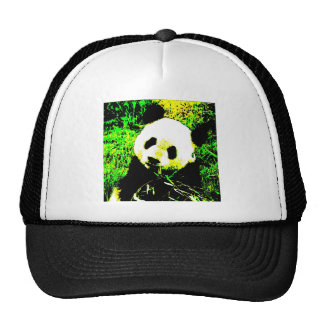 Panda Face Pop Art Trucker Hat