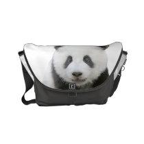 Panda Face Small Messenger Bag