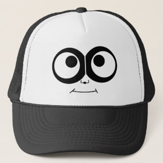 Panda Face Trucker Hat