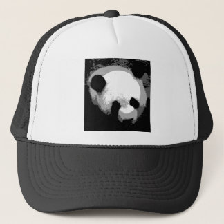 Panda Face Trucker Hat