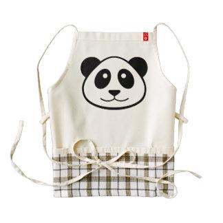 Panda Face Zazzle HEART Apron