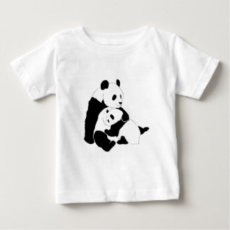 Panda Family Baby T-Shirt
