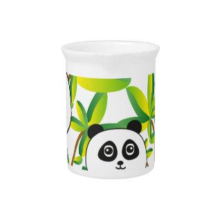 Panda Family Beverage Pitcher