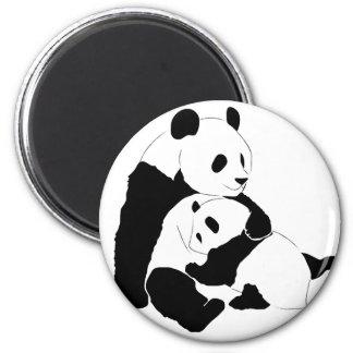 Panda Family Magnet