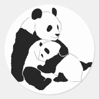Panda Family Stickers