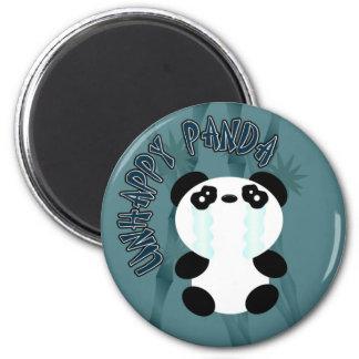 Panda feliz de la O.N.U Imán Redondo 5 Cm