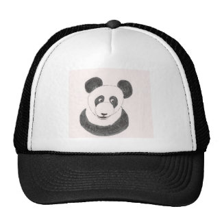 Panda feliz gorro de camionero