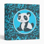 Panda feliz linda del dibujo animado
