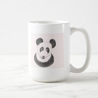 Panda feliz taza clásica