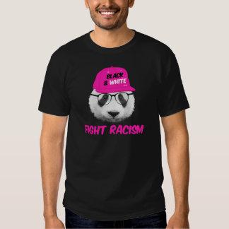 PANDA FIGHT RACISM TEE SHIRT