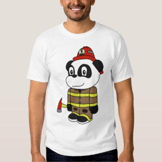 Panda - Fireman T Shirt