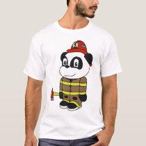 Panda - Fireman T-Shirt