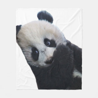 Panda Fleece Blanket