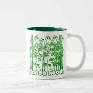 Panda Food (mug) Two-Tone Coffee Mug