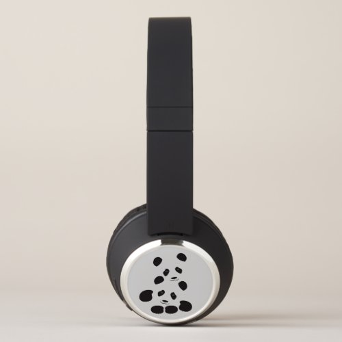 Panda Friendship Headphones