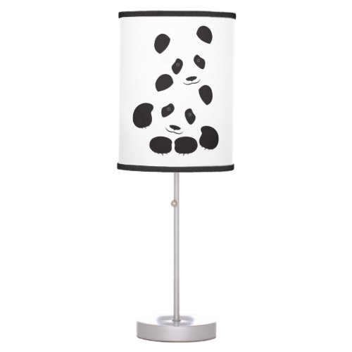 Panda Friendship Table Lamp