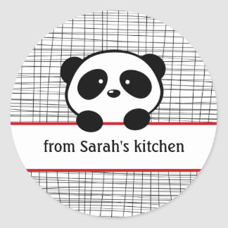 Panda From the Kitchen Of Stickers