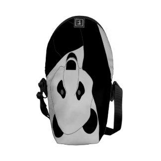 Panda gigante bolsas de mensajería