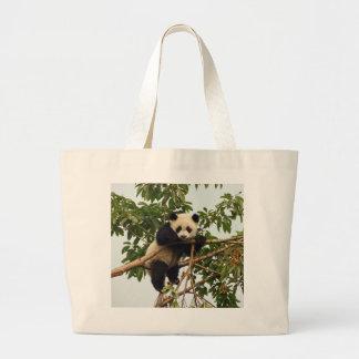 Panda gigante joven bolsa
