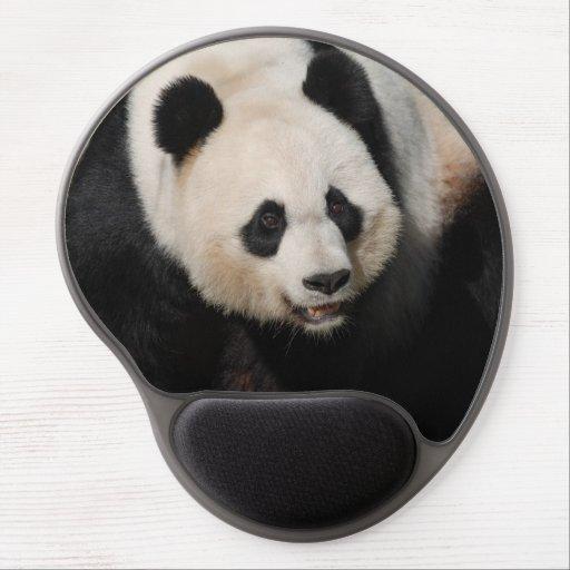 Panda gigante linda alfombrillas de ratón con gel