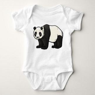 Panda gigante mameluco de bebé