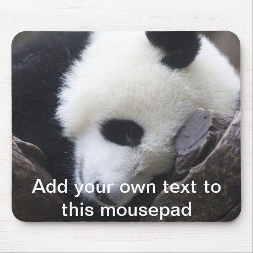 Panda gigante Mousepad Tapete De Raton