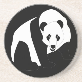 Panda gigante posavasos manualidades