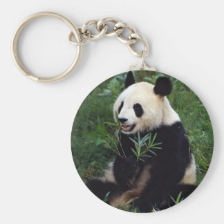 Panda gigante, provincia de Sichuan, China Llavero Personalizado