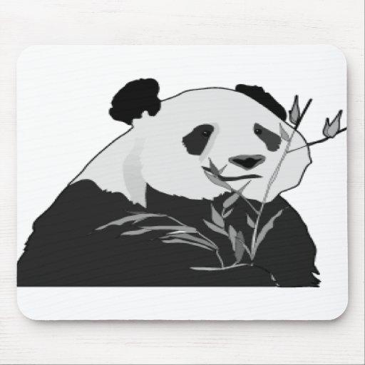 Panda gigante alfombrilla de ratón