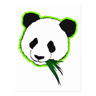 Panda gigante tarjeta postal