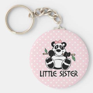 Panda Girl Little Sister Keychain
